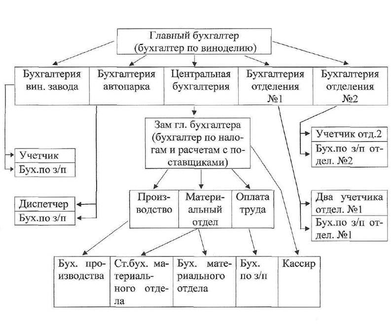 Структура бухгалтерии и краткий обзор отделов 1с бухгалтерия онлайн беларусь